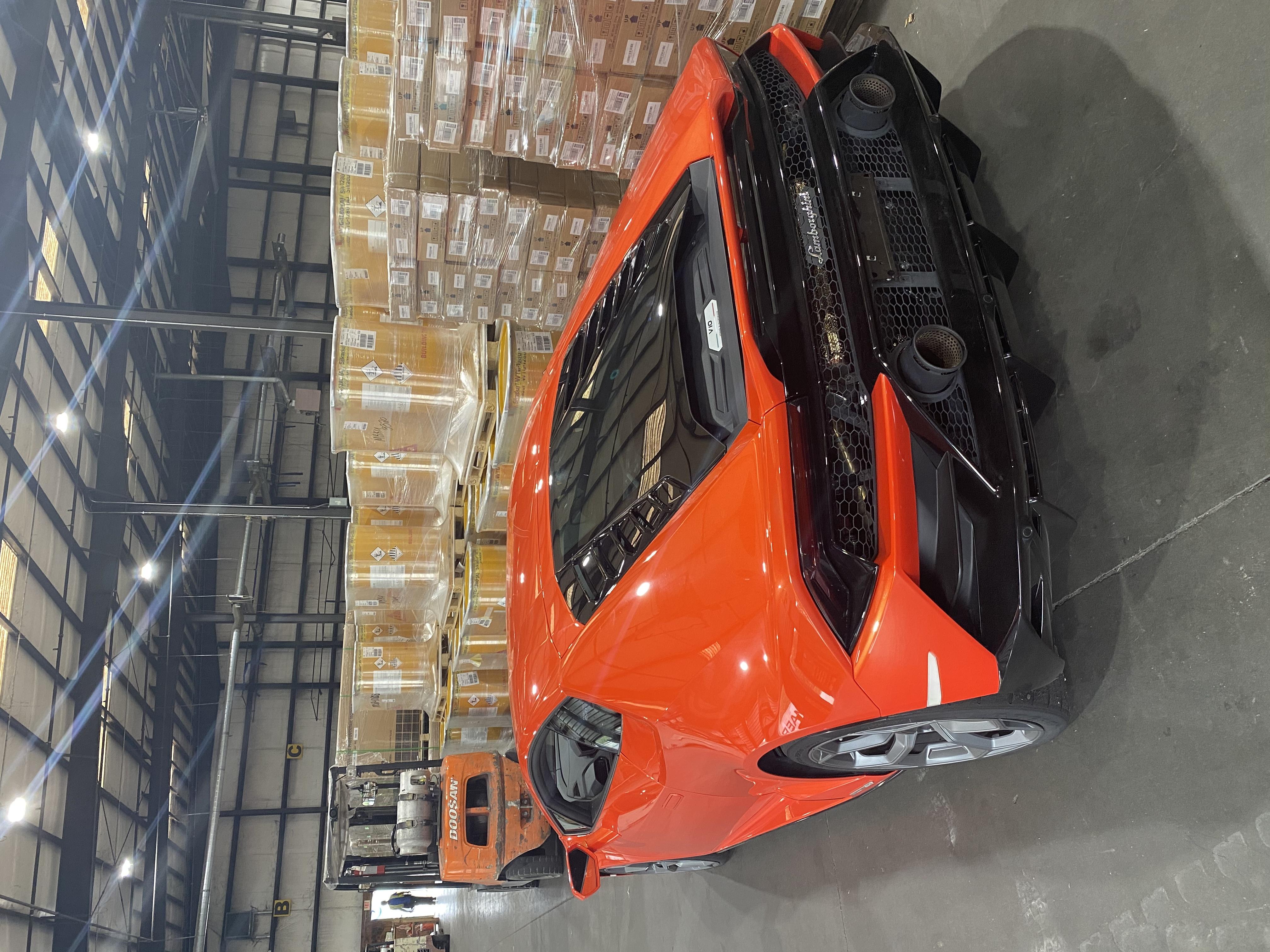 Consegna Eseguita Con Successo Per Lamborghini Spa